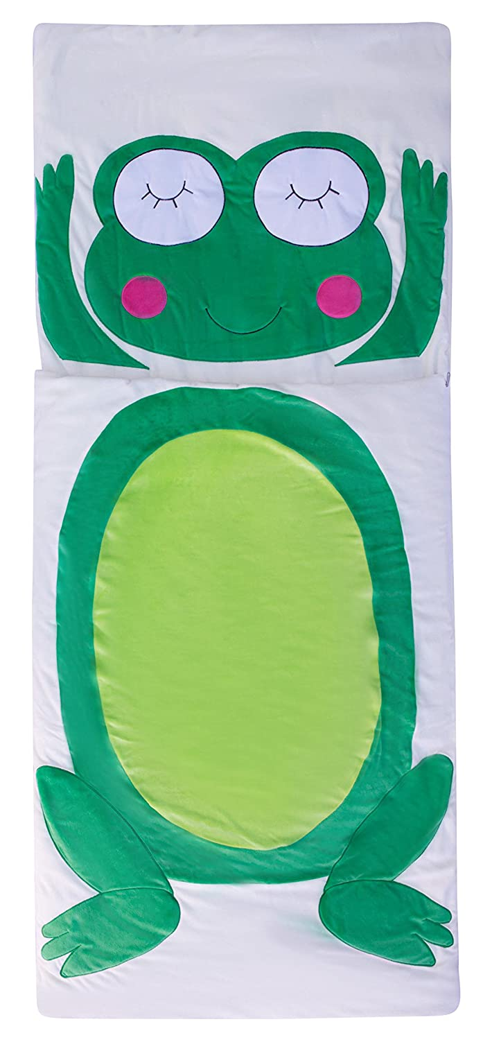 "Cute and Cuddly Kids Animal Sleepingバッグ 29""Wx68""H B01A1G6GSM フロッグ(Frog) フロッグ(Frog)"