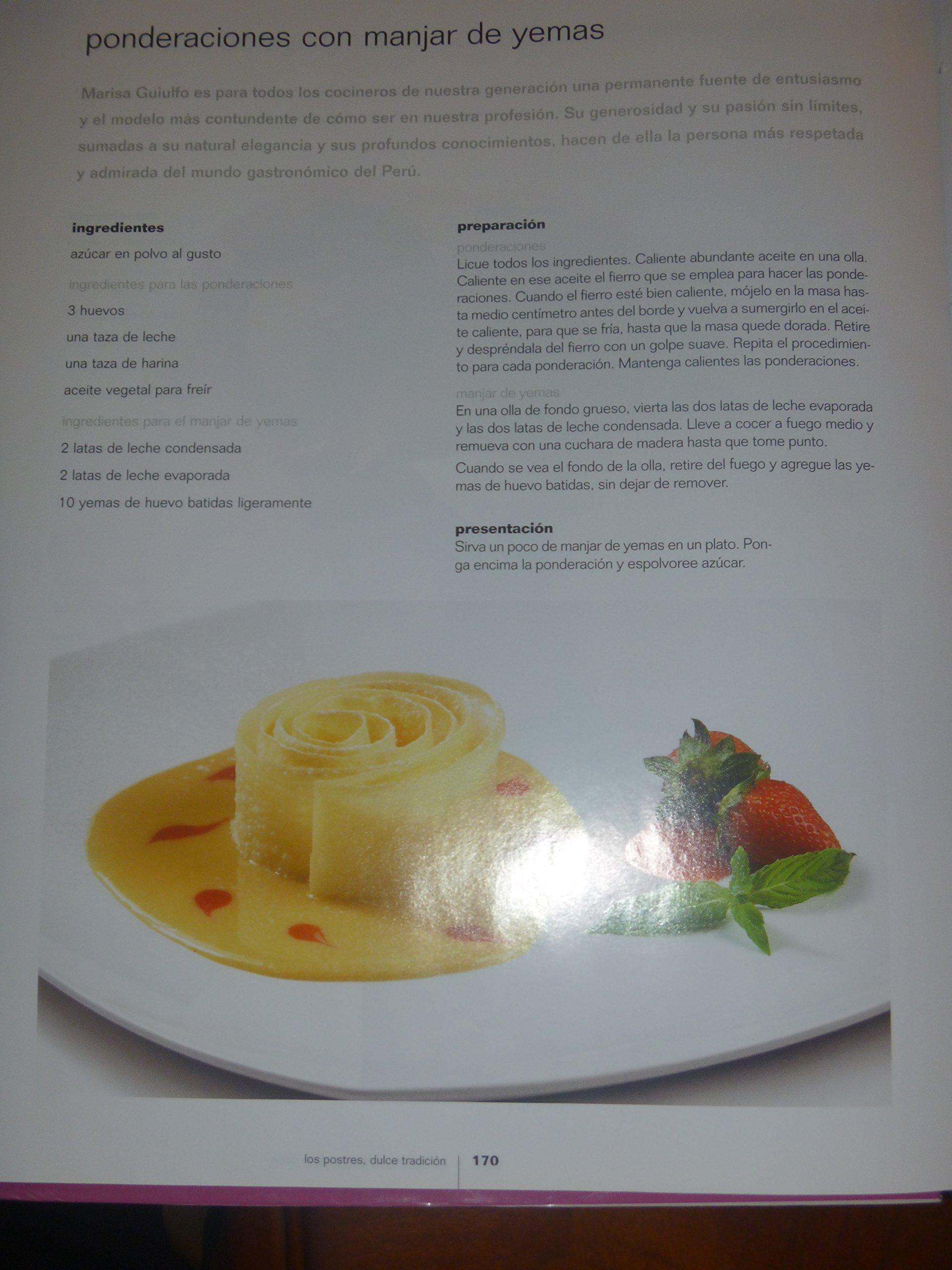 Los Postres Dulce Tradicion: Gaston Acurio Jaramillo: 9789972205590: Amazon.com: Books