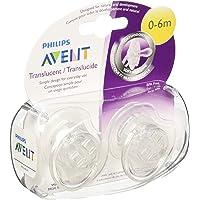 Philips Avent SCF170/18 - Chupete para bebé, 0-6 meses, 2 unidades, colores surtidos