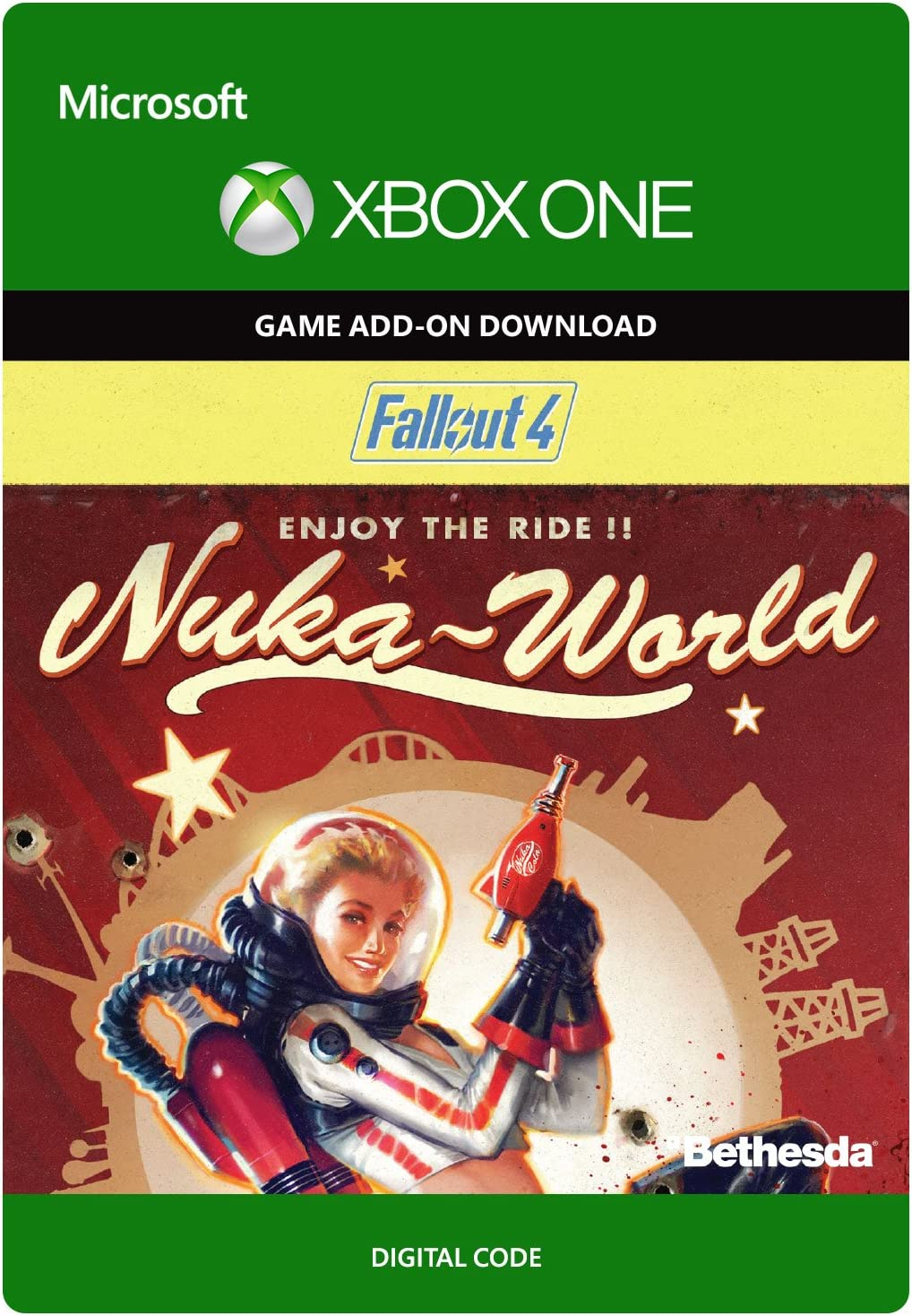 Amazon com: Fallout 4: Nuka-World - Xbox One Digital Code