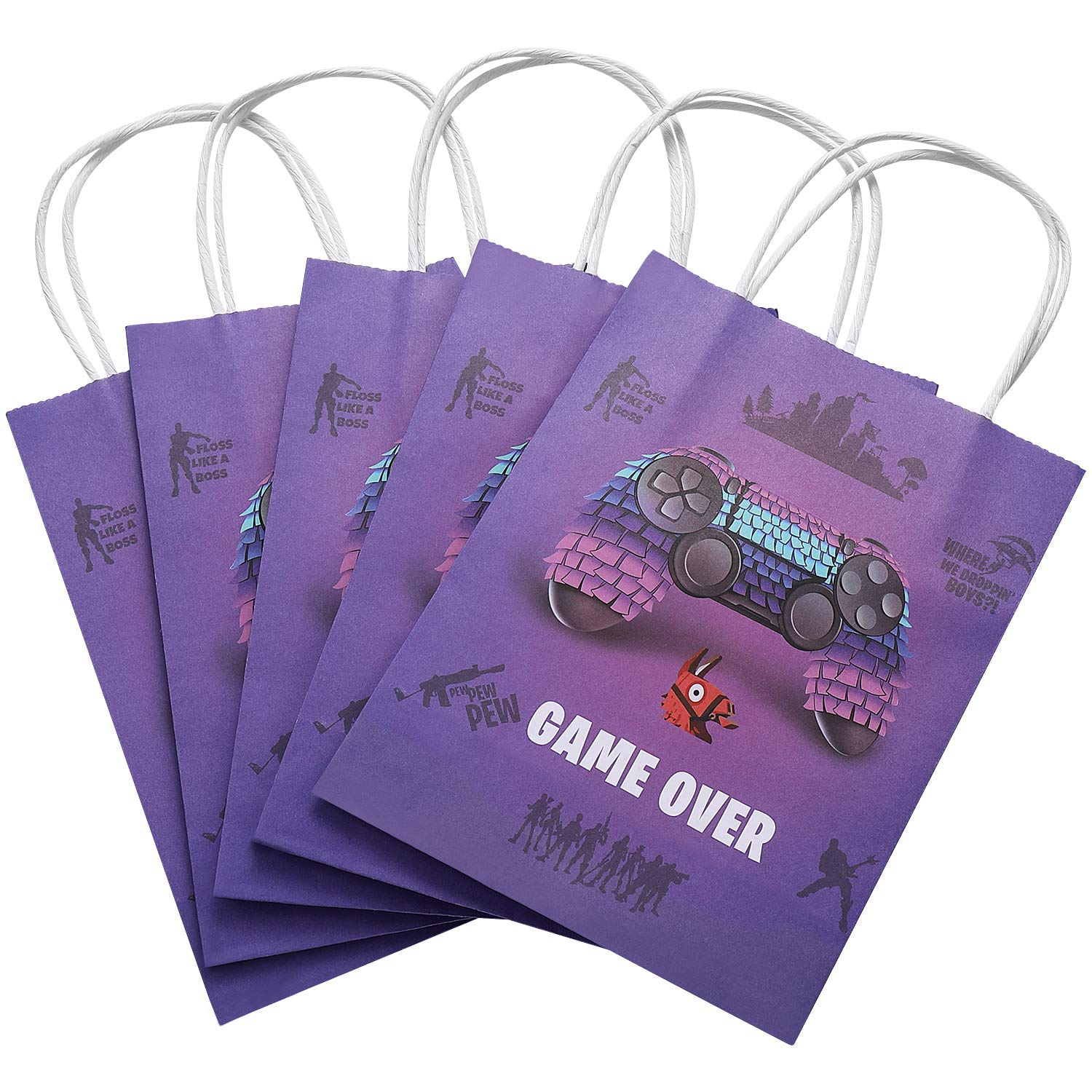 Creative Converting Holy Bleep Giant Party Banner with Customizable Stickers 295014 202024