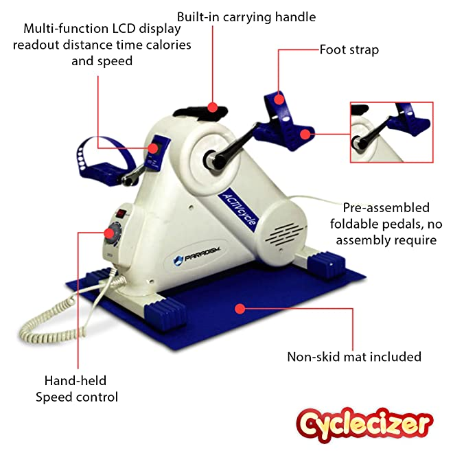Aerobic Pedal Exerciser Bikes For Home Senior Spinning Exercise Fitness Machines