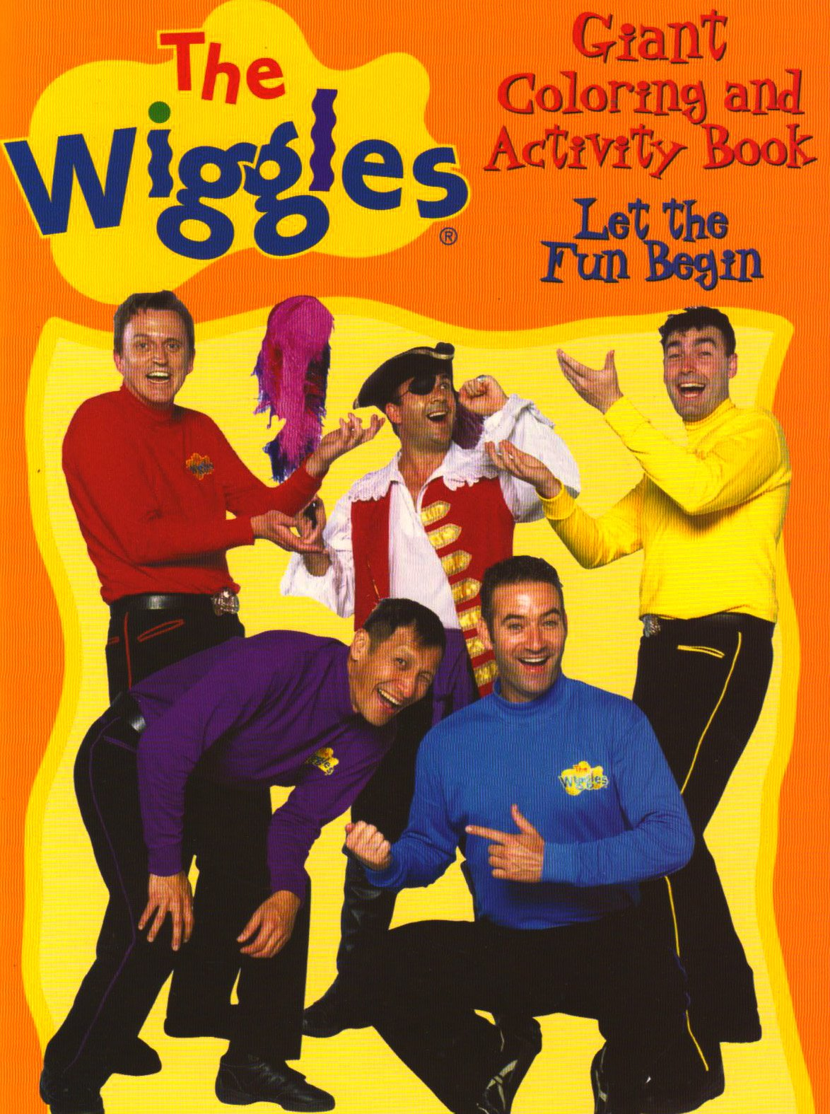 THE WIGGLES GIANT COLORING ACTIVITY BOOKS