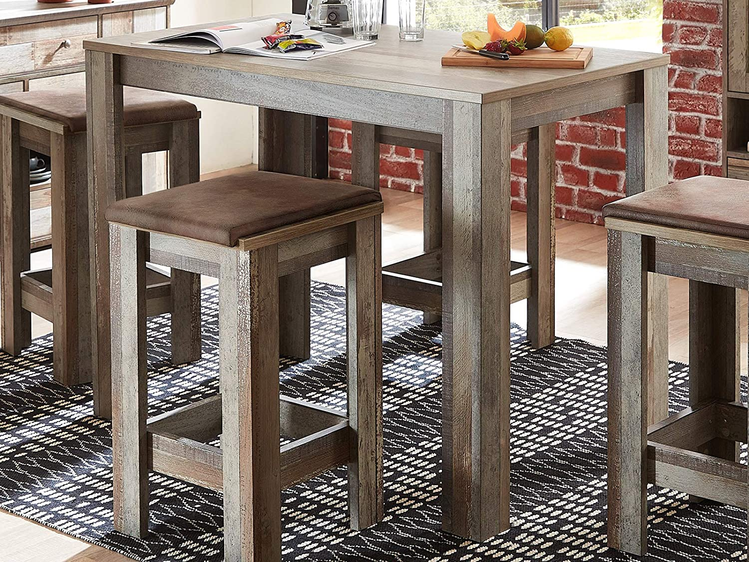 möbelando bar table kitchen counter dining room table table table ...