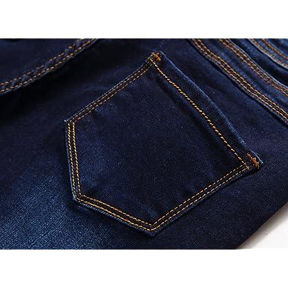 6aa04db079fc Fredd Marshall Boys Skinny Fit Stretch Fashionable Jeans Pants Slim Comfy  Denim Blue for Kids