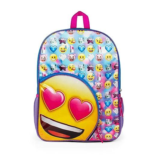 School Backpack. This Emoji Mesh Rucksack 30d08ff164