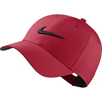 ad08aa2f NIKE L91 Cap Tech Hat, University Red/Anthracite/Black, Misc: Amazon ...