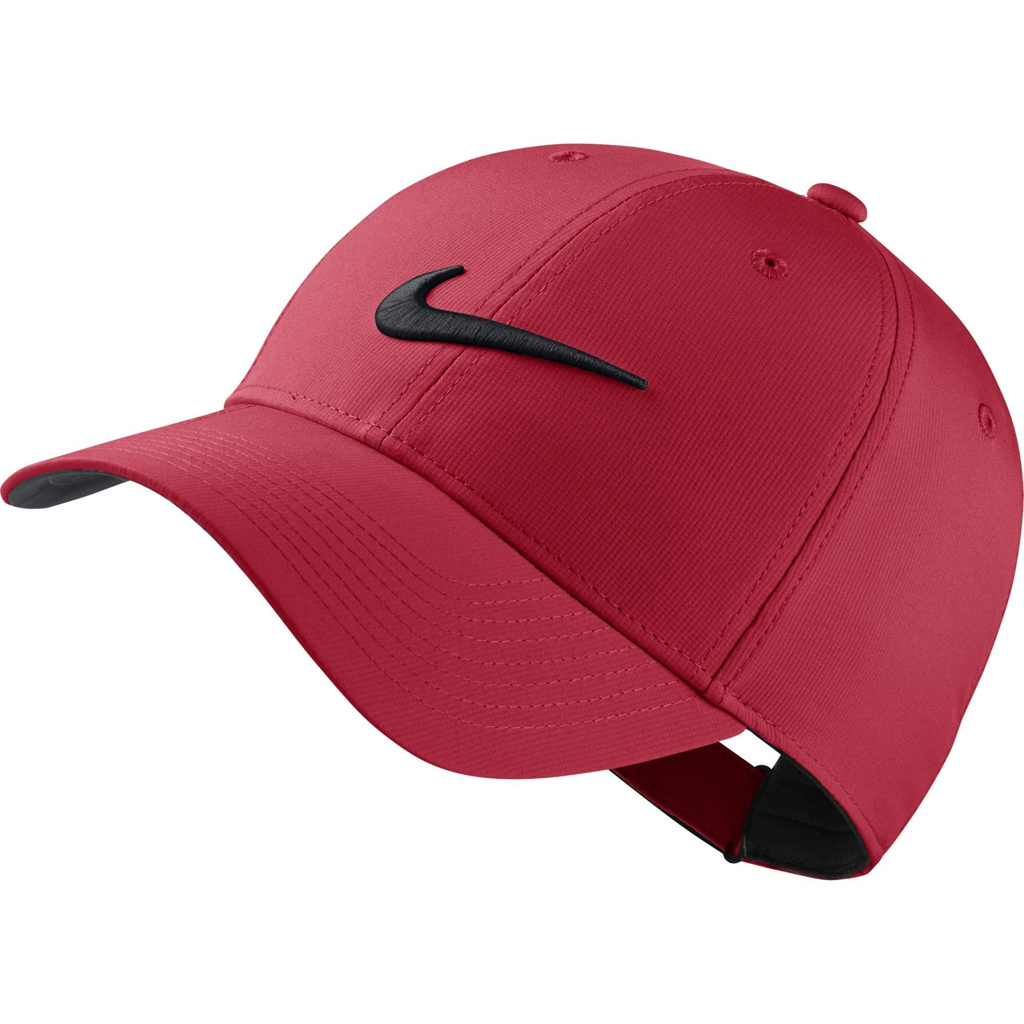 Nike L91 Cap Tech Hat, University Red/Anthracite/Black, Misc