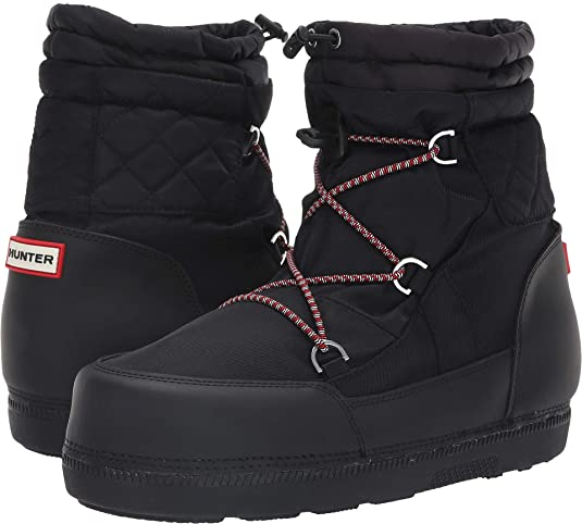 Hunter Womens Original Short Quilted Snow Boots by Hunter