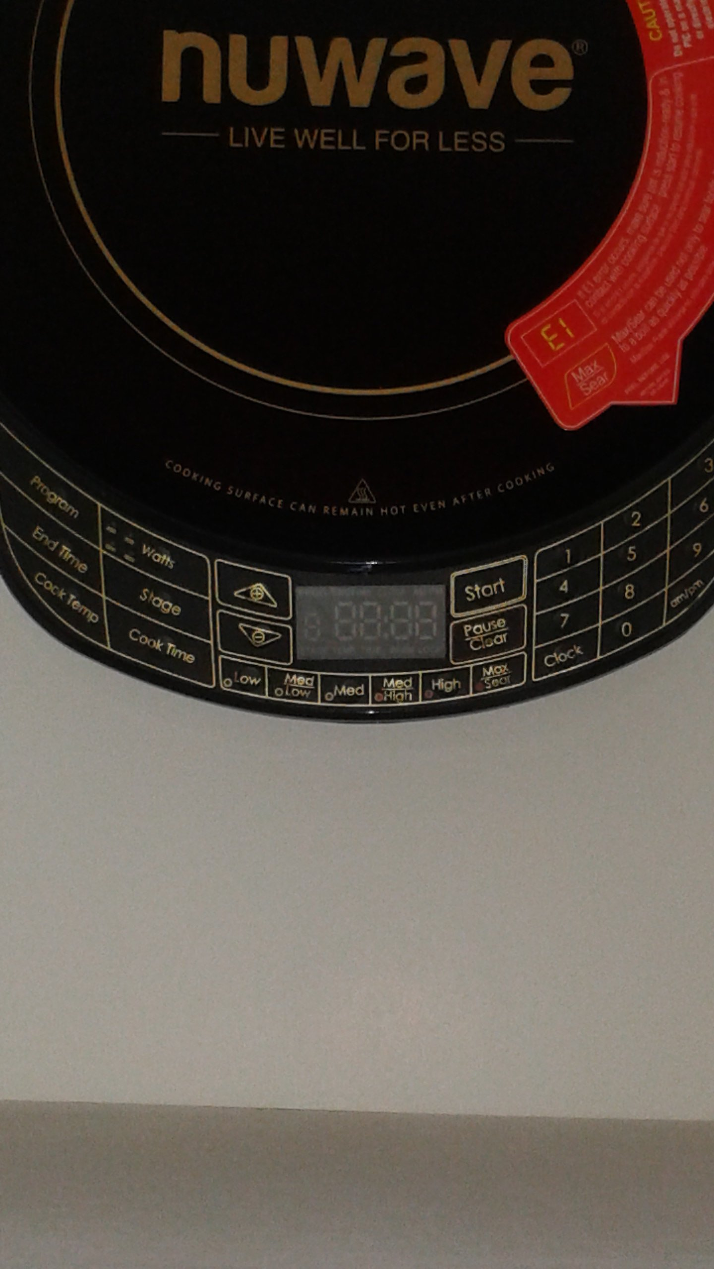 NuWave Platinum 30401 Precision Induction Cooktop, Black with Remote and Advanced Features for 2017 by NuWave (Image #7)