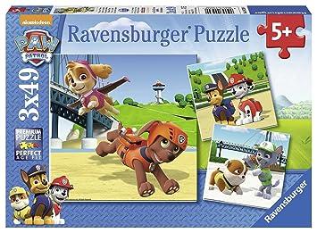 49Paw Patrol 3 X Puzzle B09239 Ravensburger sQdtrxCh