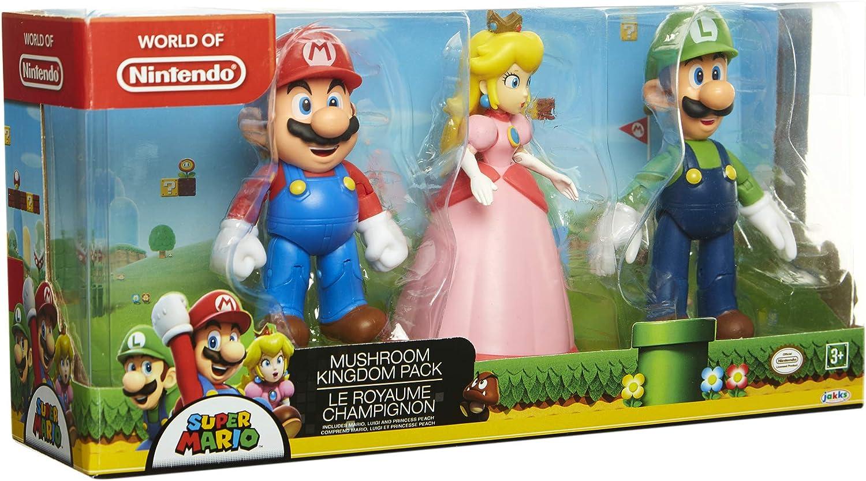 Amazon Com Super Mario Nintendo Mushroom Kingdom Diorama Figure 3