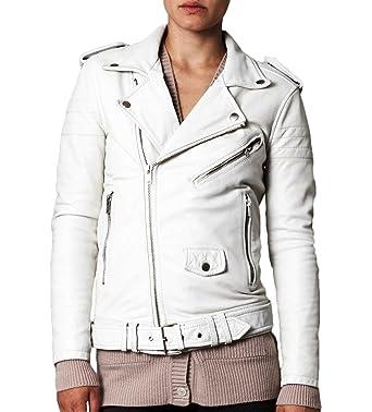 Women Leather Jacket Coat Genuine Lambskin Pure Leather Bomber Biker Jacket LTN500