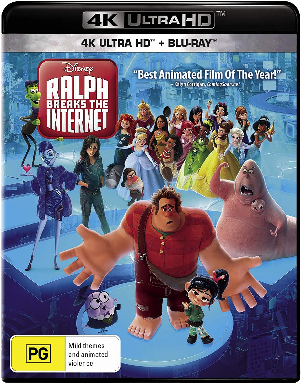 Amazon Com Ralph Breaks The Internet 4k Ultra Hd Region Free John C Reilly Sarah Silverman Taraji P Henson Gal Gadot Phil Johnston Rich Moore Movies Tv