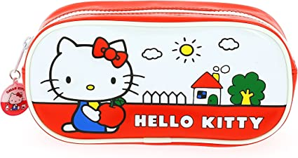 Hello Kitty – Estuche, diseño vintage: Amazon.es: Oficina y papelería