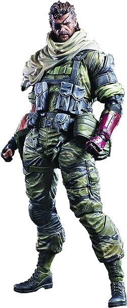 Metal Gear Solid Play Arts Break Kai Solid Snake Figure PVC SQUARE ENIX used