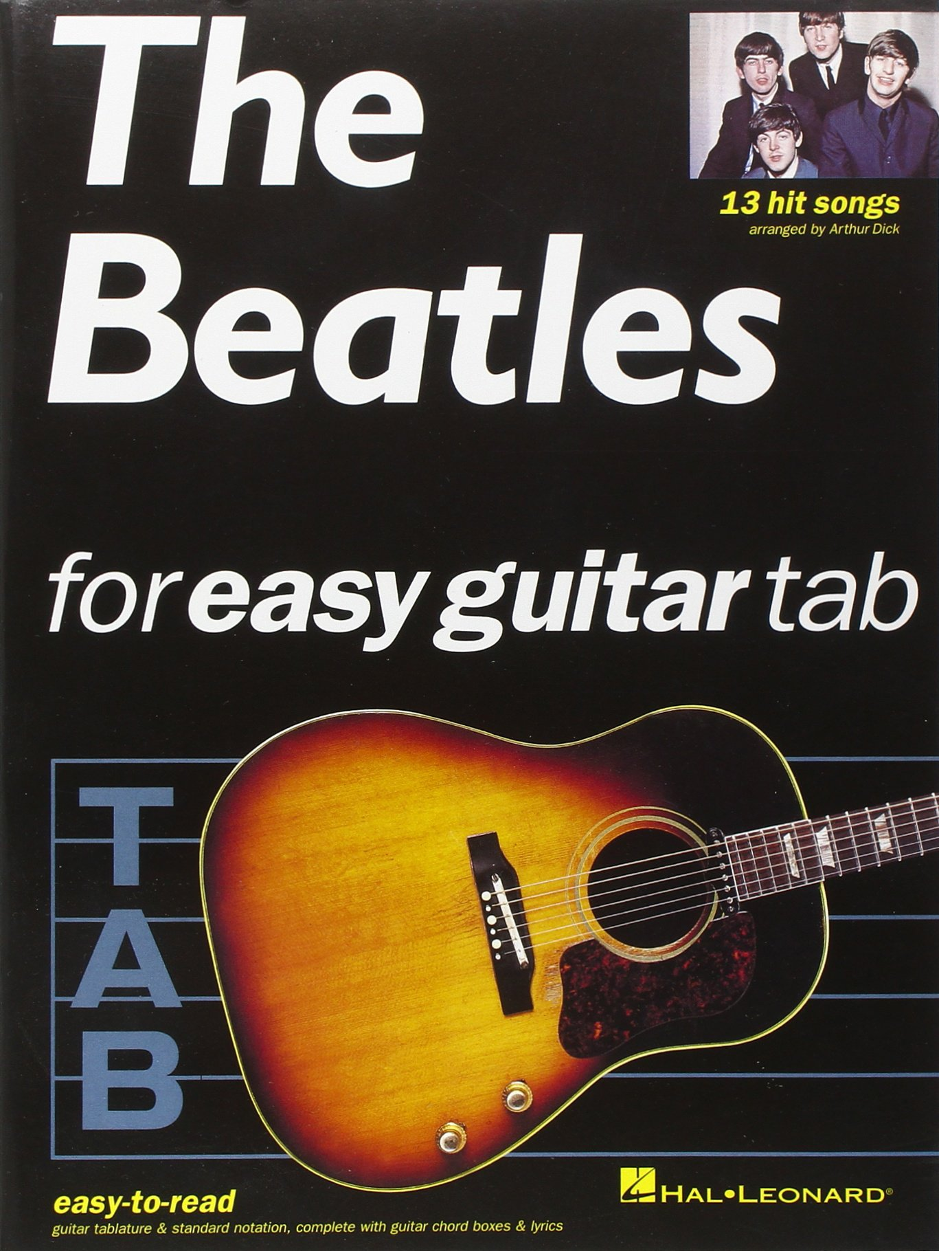 Amazon The Beatles For Easy Guitar Tab 9780711970816 The
