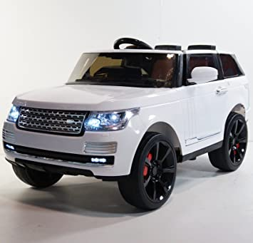 Amazon Com Range Rover Supercharged Style Ride On Toy Car For Kids