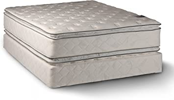 Amazon.com: Comfort Double Sided Pillowtop Queen Size Mattress and