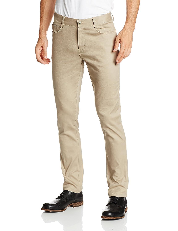 51850d9d Lee Uniforms Men's Skinny-Leg 5-Pocket Pant at Amazon Men's Clothing store: Athletic  Shirts