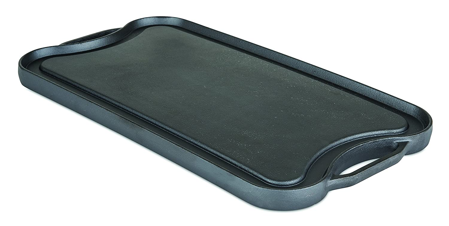 Viking Enamel Cast Iron Reversable Grill and Griddle Pan, 20 Inch Viking Culinary 40351-1220-REV