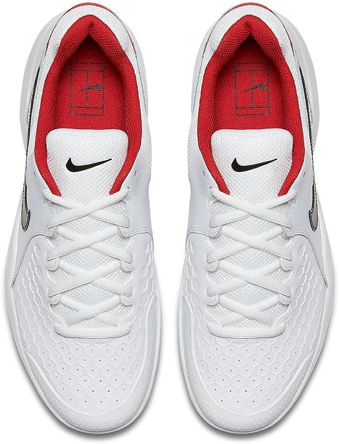 NIKE Air Zoom Resistance - Zapatillas Deportivas, Hombre, Blanco - (White/Black-University Red): Amazon.es: Deportes y aire libre