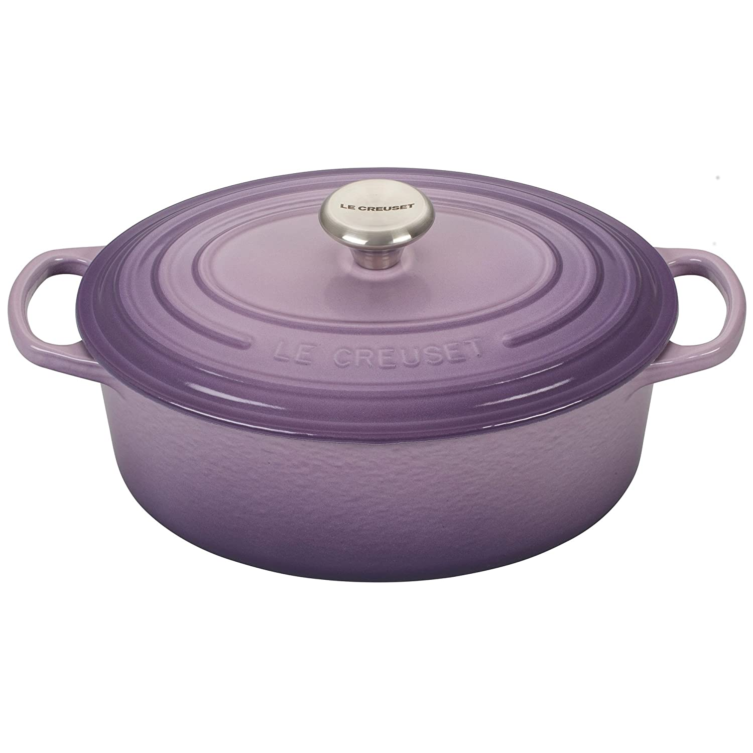 Le Creuset Signature Provence Enameled Cast Iron 2.75 Quart Oval Dutch Oven