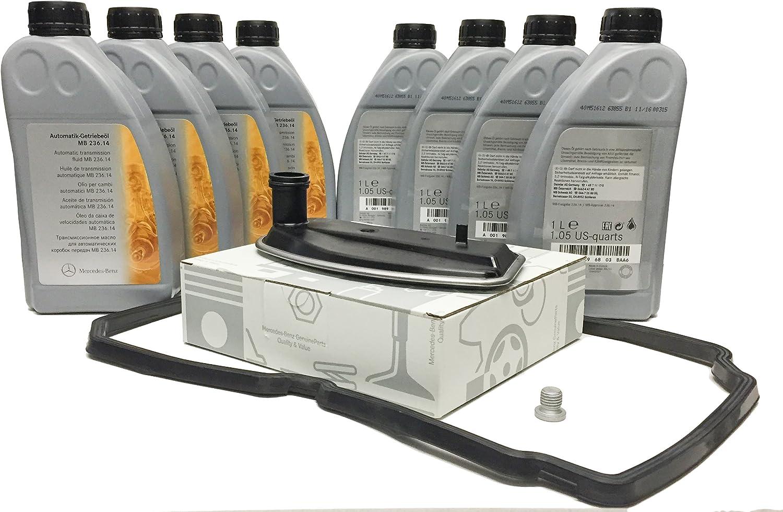 Kit Öl Fluid Linsenschwankung Automatikgetriebe Original Mercedes Benz Atf 134 8l Mb236 14 A1402770095 Auto