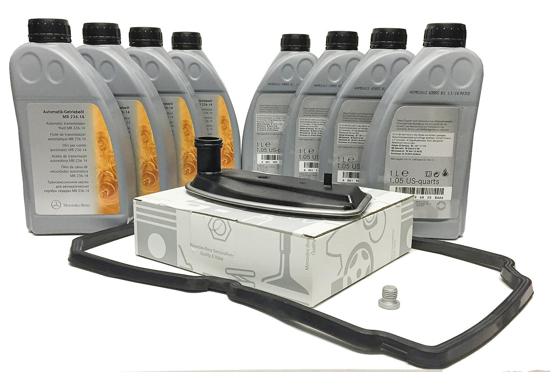 KIT CAMBIO aceite/ fluido de la transmisión automática ORIGINAL de Mercedes Benz ATF 134 8L MB236.14 + A1402770095: Amazon.es: Coche y moto