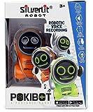 SilverLit 88529 - Pokibot - Mini robot interactif de poche - modèle aléatoire