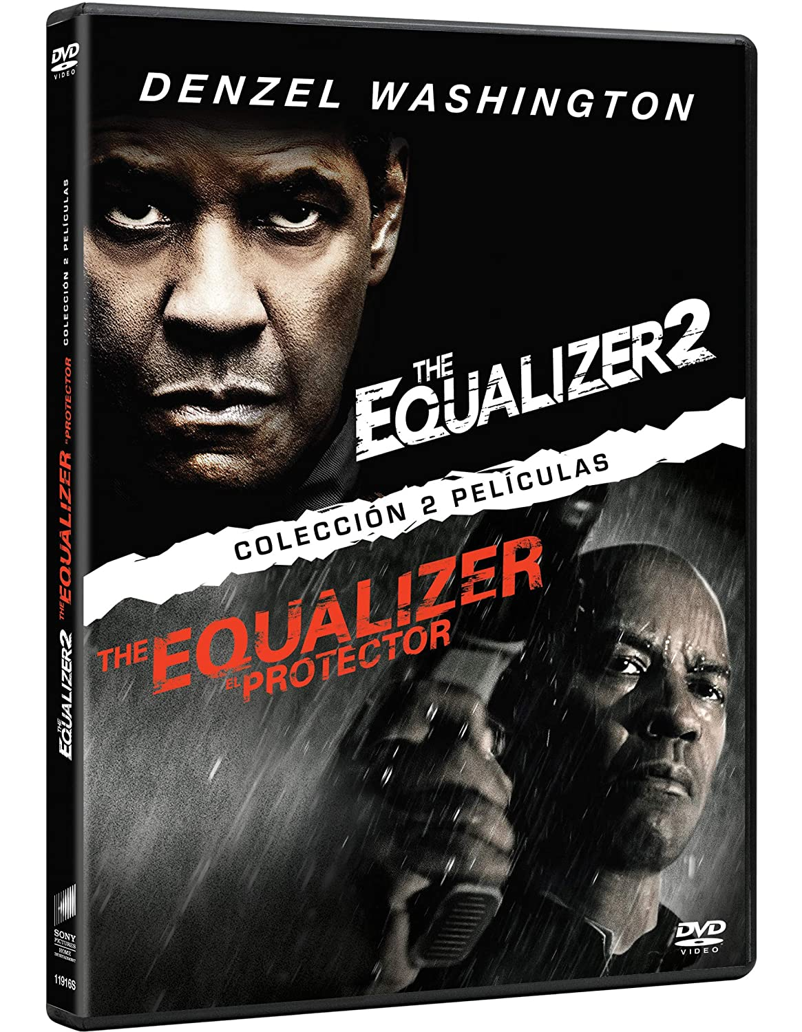 Pack: The Equalizer 1 + The Equalizer 2 [DVD]: Amazon.es: Denzel Washington, Pedro Pascal, Ashton Sanders, Bill Pullman, Melissa Leo, Marton Csokas, Chloë Grace Moretz, Antoine Fuqua, Denzel Washington, Pedro Pascal, Columbia