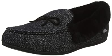 dc188820785 Fitflop Women s Clara Glimmerwool Moccasin Low-Top Slippers  Amazon ...