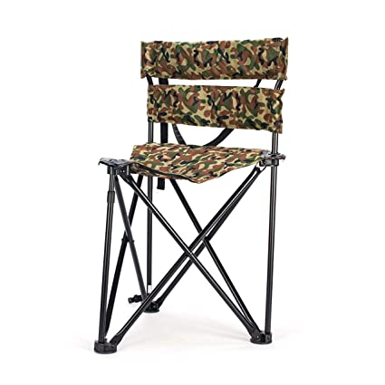 Cool Vulture Lightweight Portable Folding Ground Blind Chair Tripod Hunting Stool With Backrest Shoulder Carry Up To 250 Pounds Capacity Creativecarmelina Interior Chair Design Creativecarmelinacom