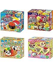 Popin' Cookin' Japaneese DIY Kit Assortment 4pcs Kracie Children Party Snack Boxes Ninjapo