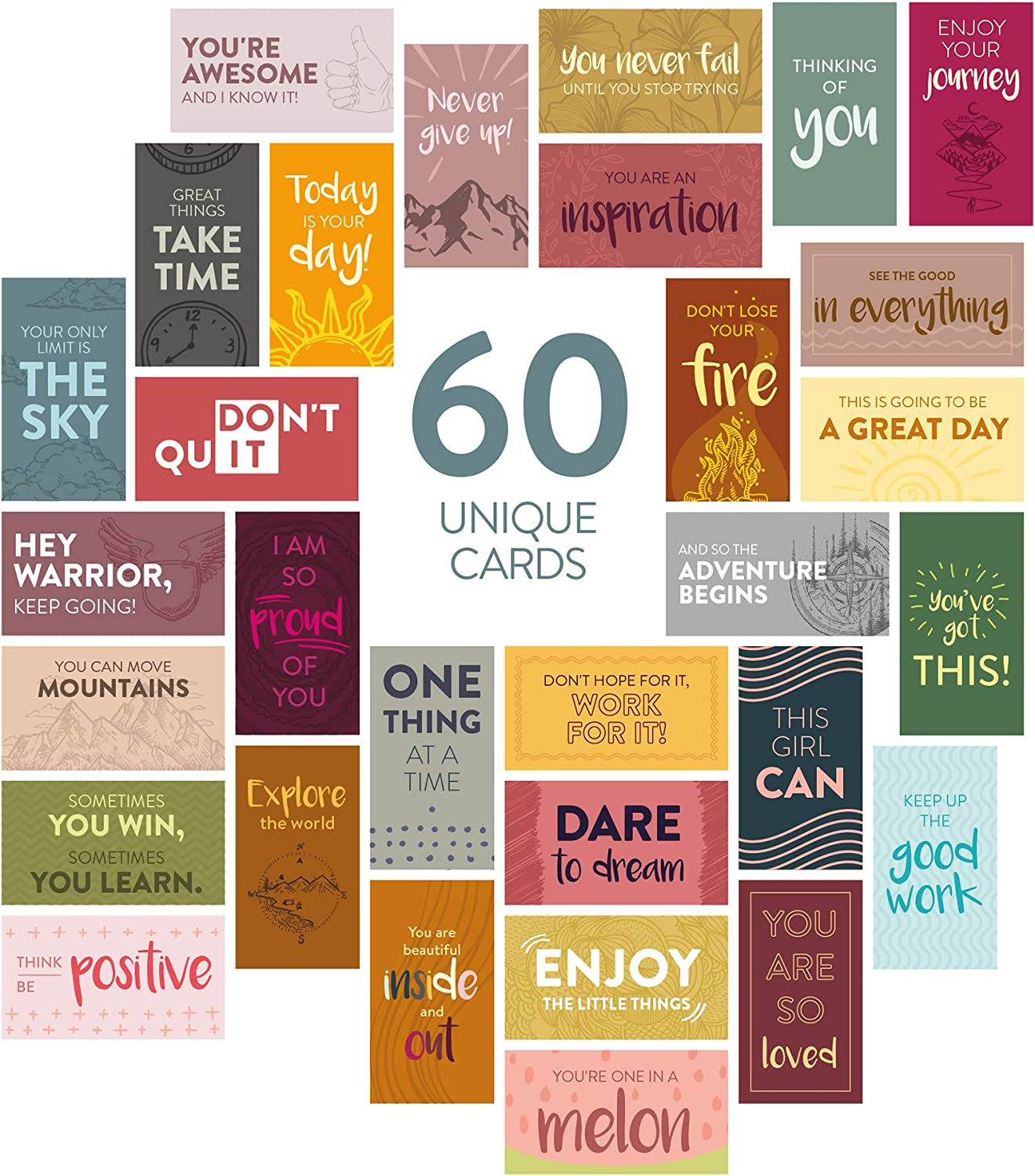 Just do the thing and learn as you go Single Card Birthday Card Modivational Card Customized Card DO THE THING Blank Card