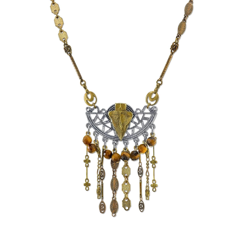Lost Arrow Statement Necklace 1928 Jewelry T.R.U