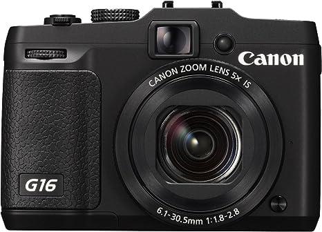 Canon PowerShot G16 - Cámara compacta de 12.1 MP (Pantalla de 3 ...