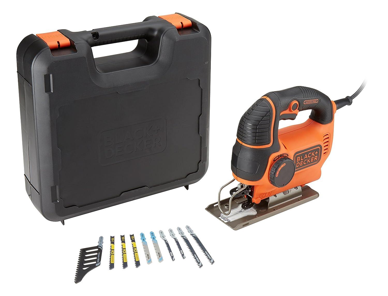 Black Decker ks901peka10-qs Pendelhubstichs/äge 620/W 4-teiliges Set orange