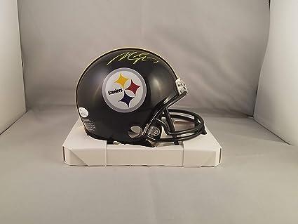 a479625fb4d Amazon.com  Michael Vick Autographed Signed Mini Helmet Pittsburgh ...