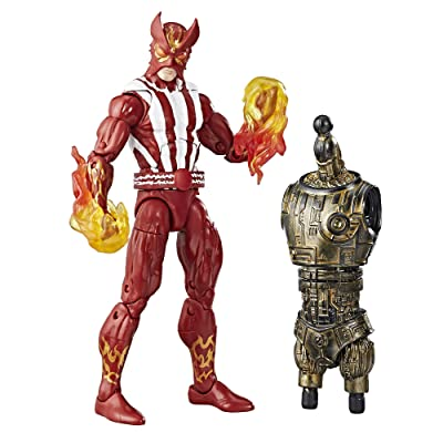 Marvel Sun Fire Action Figure: Toys & Games