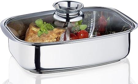 Küchenprofi Vital - Fuente de Horno Rectangular con Tapa de ...