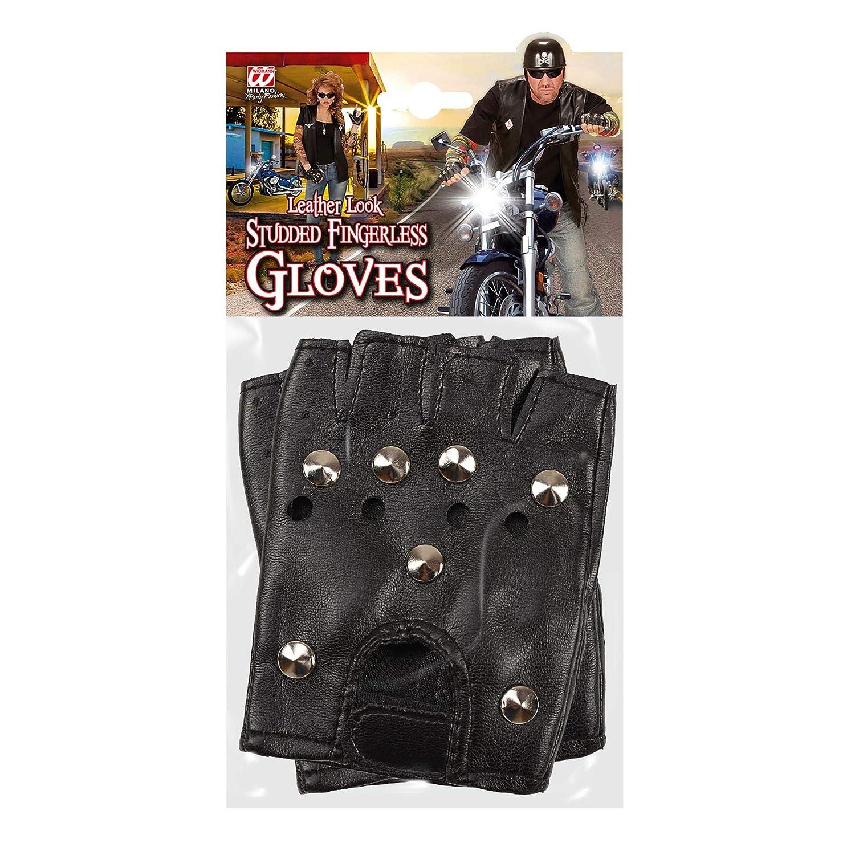 Bikers Multi-Coloured WIDMANN 46903 Rockers Punk Gloves