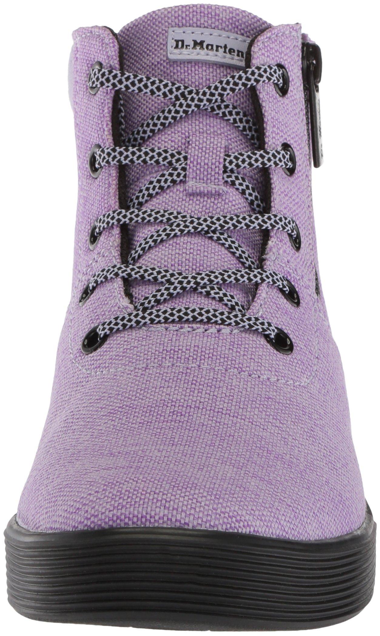 Dr. Martens Women's Maegley Fashion Boot, Purple Heather Woven Textile+Fine Canvas, 6 Medium UK (8 US) by Dr. Martens (Image #4)