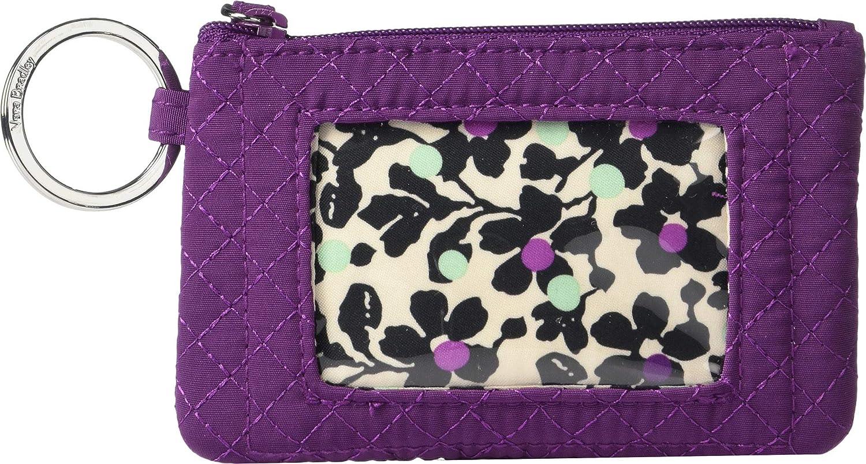 huge discount 02cb5 65855 Vera Bradley Women's Iconic Zip Id Case