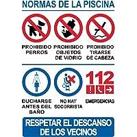 akrocard Cartel para Piscina PVC
