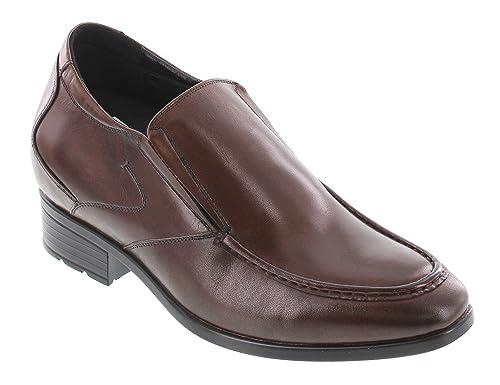 TOTO - Mocasines de Piel para Hombre marrón marrón: Amazon.es: Zapatos y complementos