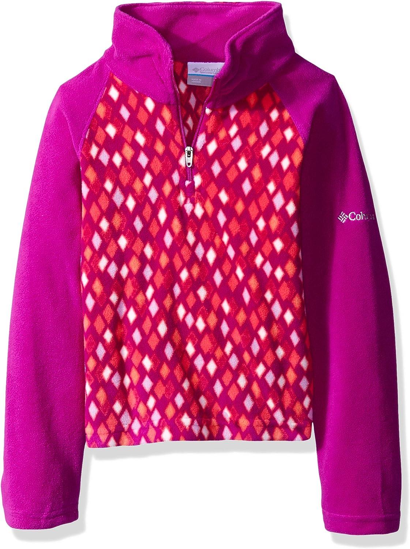 Columbia Girls Glacial ll Half Zip Print Fleece