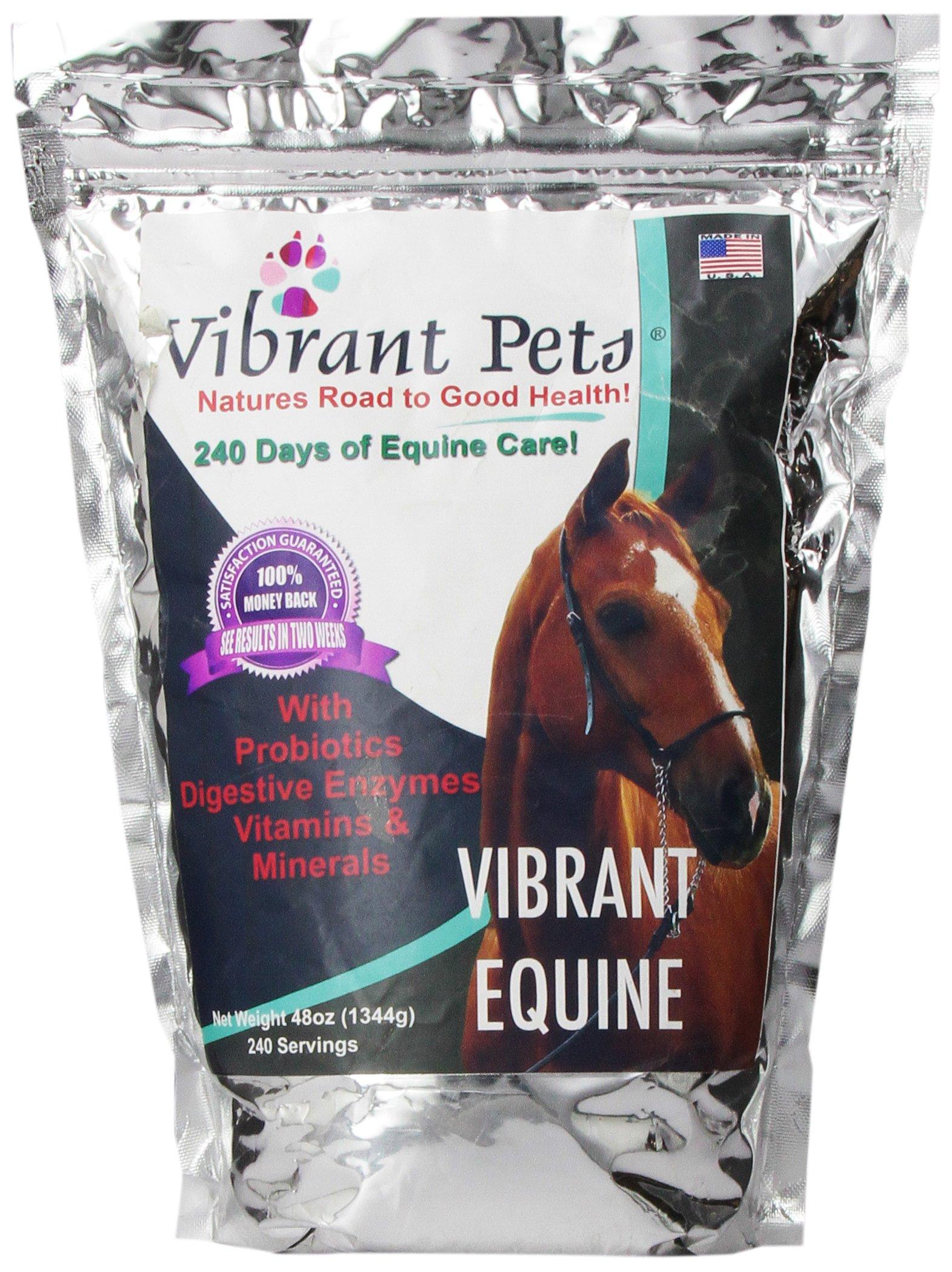 Vibrant Pets VE48 Vibrant Equine, 48 oz. by Vibrant Pets