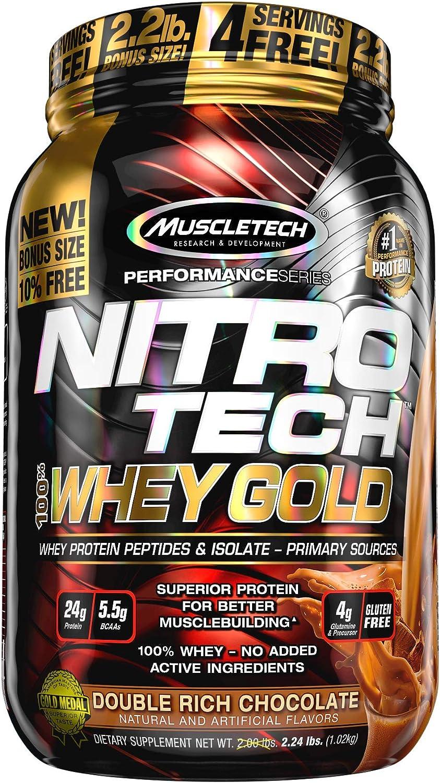 Review Muscletech Nitro-Tech Performance