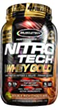 MuscleTech Performance Series Nitrotech 100% Whey Gold - 2.24 lbs (1.02 kg) (Double Rich Chocolate)